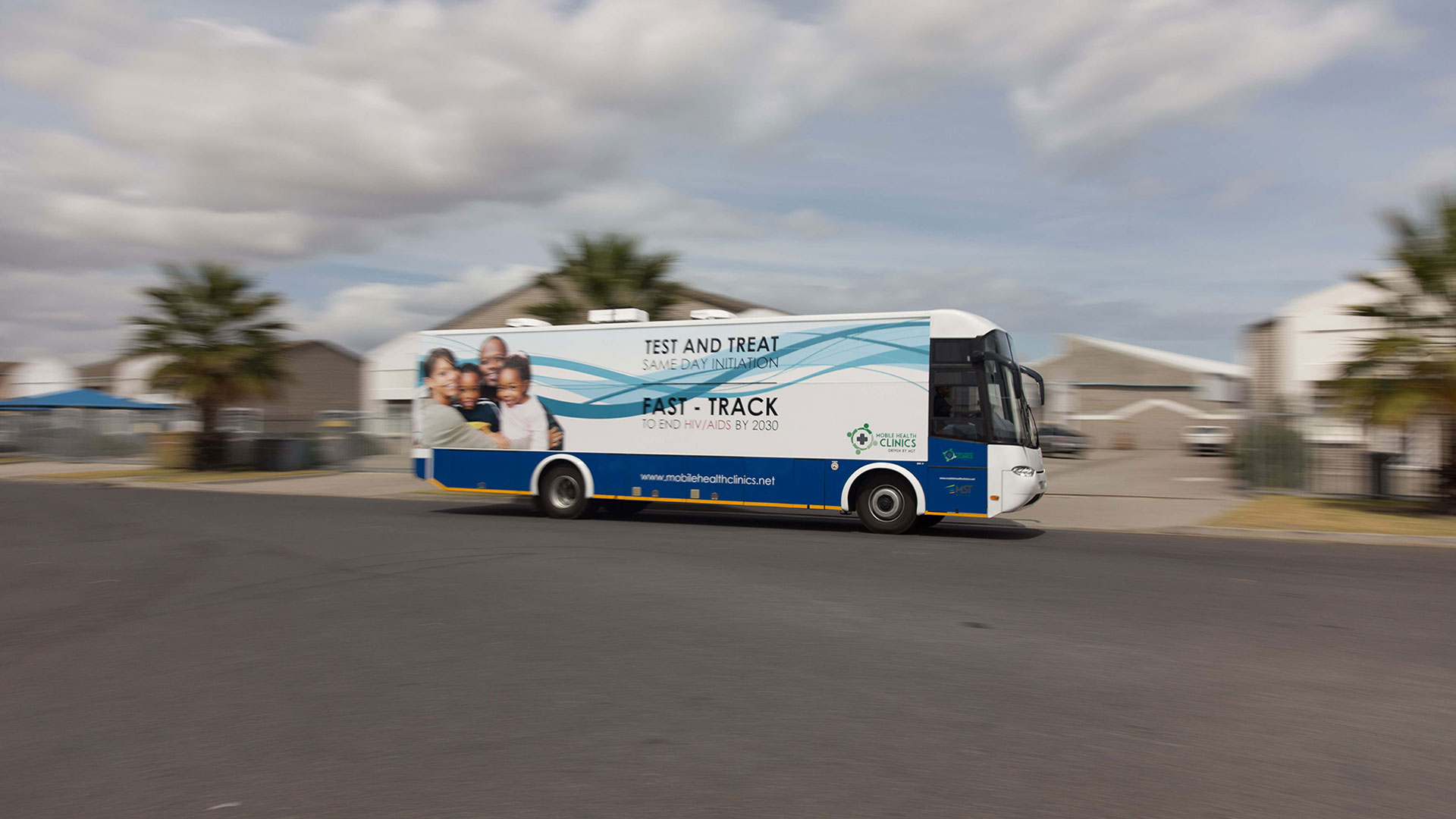 MHC mobile unit - eradicating HIV