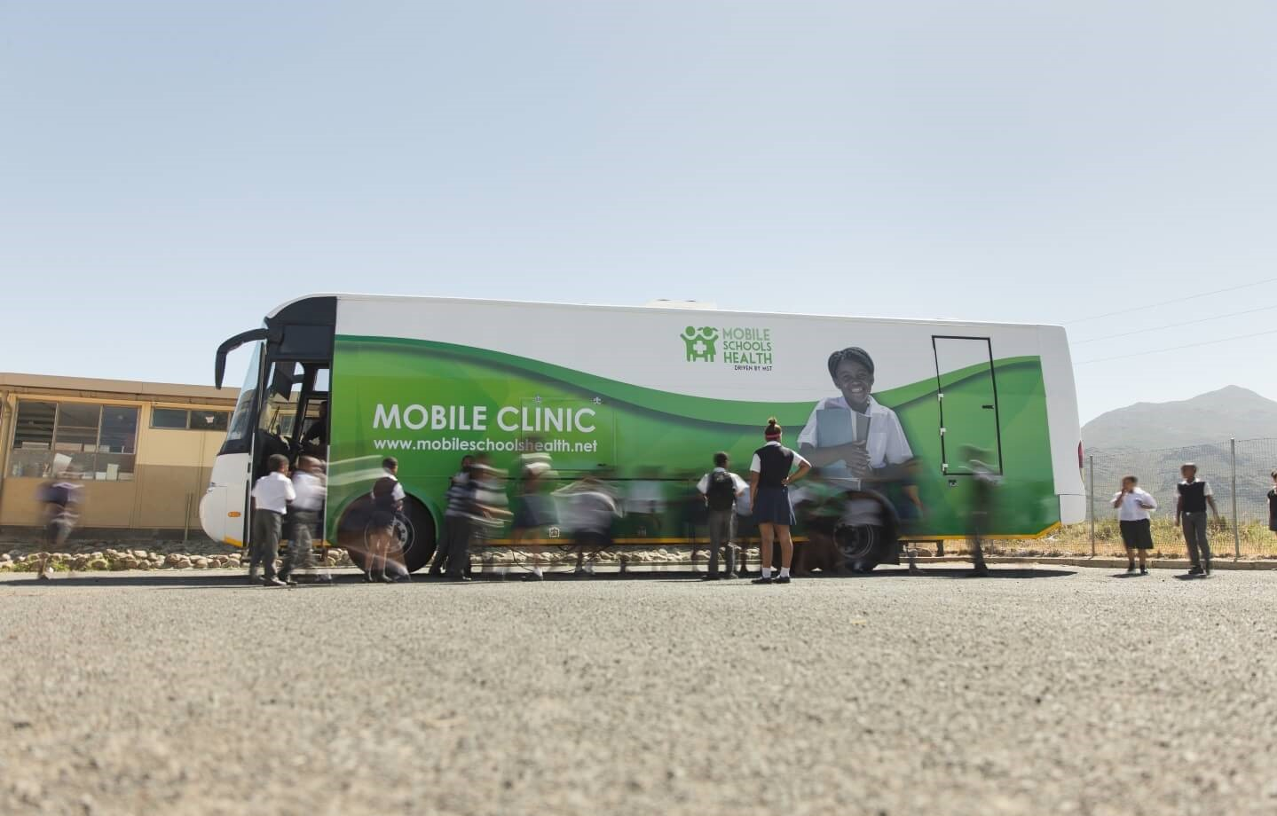 MSH mobile unit outside